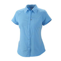 Camisa Columbia Silver Ridge Mujer Harbour Blue Omni Shade