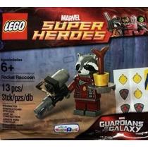 Minifigura Rocket Racoon Guardians Of The Galaxy Lego Ugo