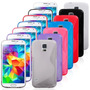 Capa S Tpu Flexível Galaxy S5 G900 - 7 Cores Diferentes
