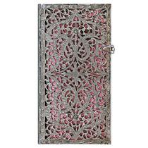 Libreta Slim Blush Pink Rayas Paperblanks