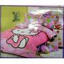 Edredon Individual Infantil Hello Kitty, Barbie, Cars, Ben10