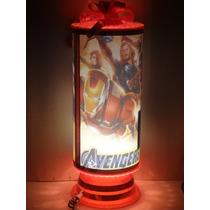 Avengers Centros De Mesa Lamparas Avenger