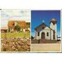 22376- Postal Jaquirana, R S - Igreja Matriz/casa De Fazend