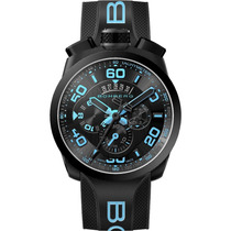 Bomberg Bolt-68 Neon Ice Blue Chronografo Su Bs430 Diego Vez
