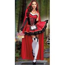 Lencería Sexy Disfraz Caperucita Campesina Halloween Fotos