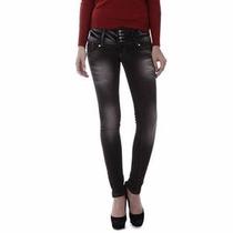 Calça Vakko Jeans Skinny Na Cor Preta 38