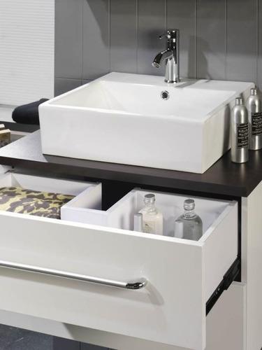 Bachas piletas para ba o de loza se hacen muebles a for Muebles de lavabo de 60 cm