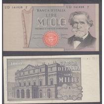 Billete Italia 1000 Liras 1969