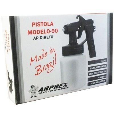 Pistola de pintura mod 90 plastica para ar direto - Pistola pintura plastica ...