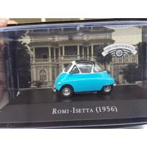 Coleção Carros Inesquecíveis Do Brasil Altaya - Romi Isetta