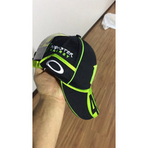 Boné Bordado Moto Gp Valentino Rossi Vr46 Monster Energy