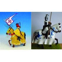 Cavaleiros Da Idade Media- Deagostine-1:32 Chumbo
