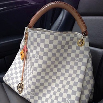 Louis Vuitton Artsy Bolsa Azur Ticket Y Fact Lv Neverfull