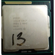Intel® Core I3-2130 Processor (3m Cache, 3.40 Ghz)
