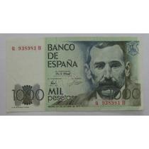 Espanha: Bela Cédula De 1000 Pesetas 1979 S/fe