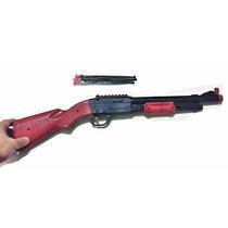 Arminha De Brinquedo Rifle Espingarda Arma 12 + Brinde