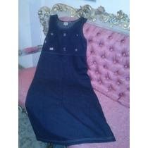Vestido De Jean -casual, Moderno