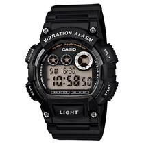 Relogio Casio W-735h-1avdf Alarme Vibratório Cronometro 100m