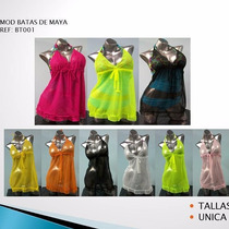 Hermosas Batas De Malla Playeras Mayor Y Detal