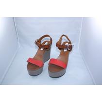 Sandalias Zapatos Steve Madden Wedge Talla 11 Usd