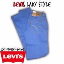 Levis Para Damas Lady Style Corte Original 100% Calidad