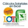 Calculos Salariales 2016 Liquidaciones Lottt Plantilla Excel