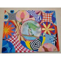 Cuadro De Madera Pintado Con Pinturas Acrílicas De 100x80