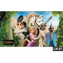 Enrolados Rapunzel Painel 2,00x1,00 Lona Festa Aniversario
