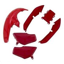Kit Plástico Carenagem Honda Titan Cg 125 95 Á 99 + Brinde