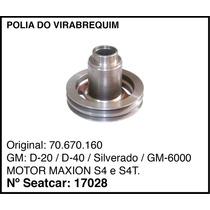 Polia Do Virabrequim Gm 6000 Com Motor Maxion S4/s4t