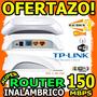 Wow Router Inalambrico Tplink Tl-wr-720n Lan 2 Rj45 Wifi
