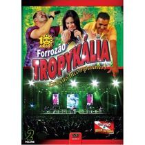 Dvd Forrozao Tropykalia Em Belém Vol.2 Original