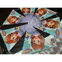 Banderin Y Stickers Para Candy Bar Sofia O De Lo Que Gustes