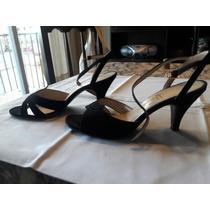 Lote De Zapatos Plateados, Sobre Plateado, Sandalias Negras