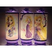 Rapunzel Centros De Mesa,recuerdos, Lamparas 1regalo