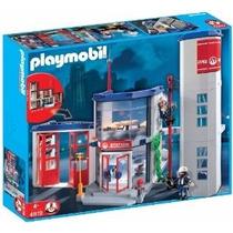 Playmobil 4819 Estación De Bomberos Mejor Precio!!