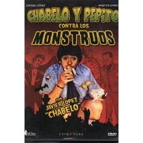 Pelicula Dvd Chabelo Y Pepito Contra Los Monstruos