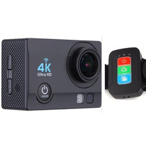 Camara Deportiva Control 4k 30 Fps Sensor Sony 16mp Wifi Luz