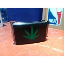 Hebilla Hoja Marihuana/cannabis De Cinto Ben Davis Con Envío