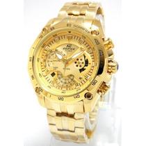Reloj Casio Edifice Dorado Ef-550fg Sellado Original 2015