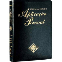 Bíblia De Estudo Aplicação Pessoal Grande 17 X 23,5