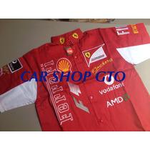 Camisa Escuderia Ferrari Tipo F1