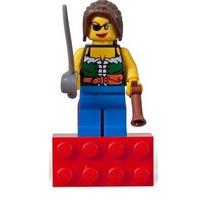 Lego City - Minifigura Pirata Feminina Menina