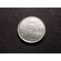 Brasil - Moneda De 5 Ctvs. - Año: 1994