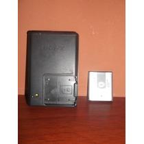 Cargador Y Batería De Cámara Digital Sony