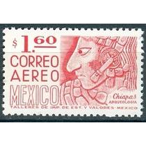 Sc C474 Año 1975 Bajorrelieve De Una Estela Bonampak Chiapas