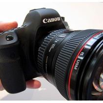 Câmera Canon Eos 6d + 24-105mm +32gb Sandisk Sdhc E Garantia