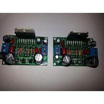2 Placa Amplificador Total 200w Rms Montada
