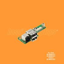 Power Jack Usb Board Laptop Dell Inspiron 1525 1526 07533-2