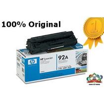 Hp 92a Toner Original Hp 92a 100% C4092a Remate Super $